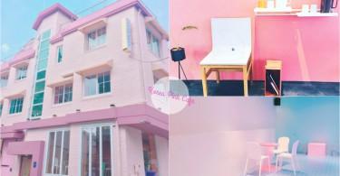相機記憶體要爆滿啦!韓國超夢幻粉紅色咖啡店,開門那瞬間是仙境嗎~