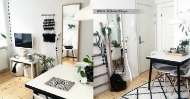蝸居裡的治癒空間~純淨的白色讓家裡變成洗滌心靈之地啊