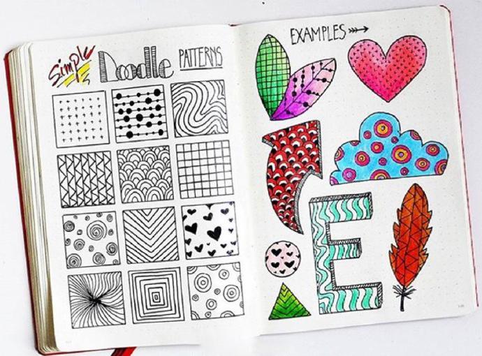 35款超简易手绘素材,即使不会画画也能做出让人羡慕的手帐!