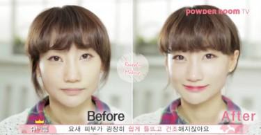補妝不是拼命往臉上撲粉就可以!韓妞親授「正確補妝法」,讓你妝容還原乾淨完整~