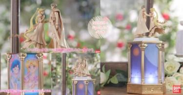 超夢幻美少女戰士夜燈音樂盒,看著地場衛與月野兔二人共舞必定能浪漫入睡!