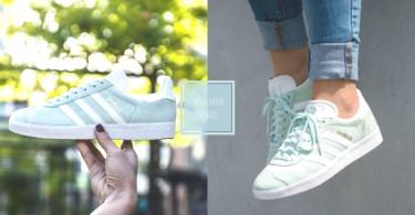 誰說冬天一定要穿黑白灰!精選3雙「薄荷綠球鞋」,為寒冬抹上一點小清新吧!