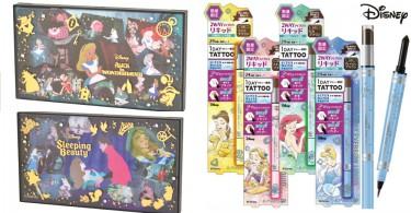 迪士尼你能讓我的錢包歇一歇嗎!日本迪士尼公主眼影盤+眉筆,每一款都好想擁有!