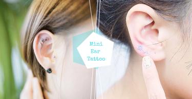 10款可愛又性感的耳朵小刺青~冬天就用耳朵刺青展現不平凡的氣質!