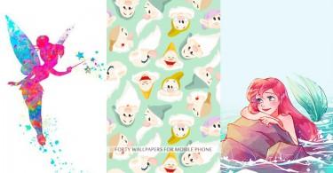 再沒有不換壁紙的理由了!40款迪士尼手機壁紙任你選,天天轉換帶來不同的好心情~