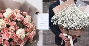 女生都愛收花!7種夢幻色系花束,滿天星、紫陽花、香檳玫瑰哪個是你的愛?