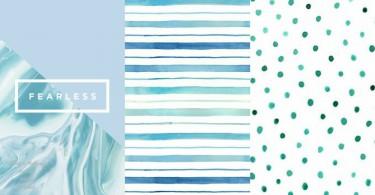簡約系女生趕快下載~50款簡潔花紋手機桌布,條紋雲石紋波點通通都有!