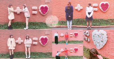 日本原宿超火紅的可愛意境外牆,與男友或閨蜜來拍照也絕對是超高調的放閃!