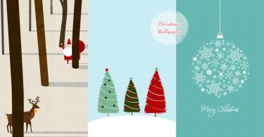 連手機也要來應景咯!44款質感耶誕主題桌布,還未到聖誕節經已充滿過節氣氛~