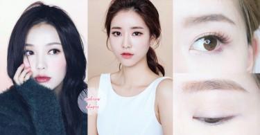 別忽略眉毛的重要性!4種臉型的絕配眉毛畫法,選對眉毛絕對能顯臉小啊!
