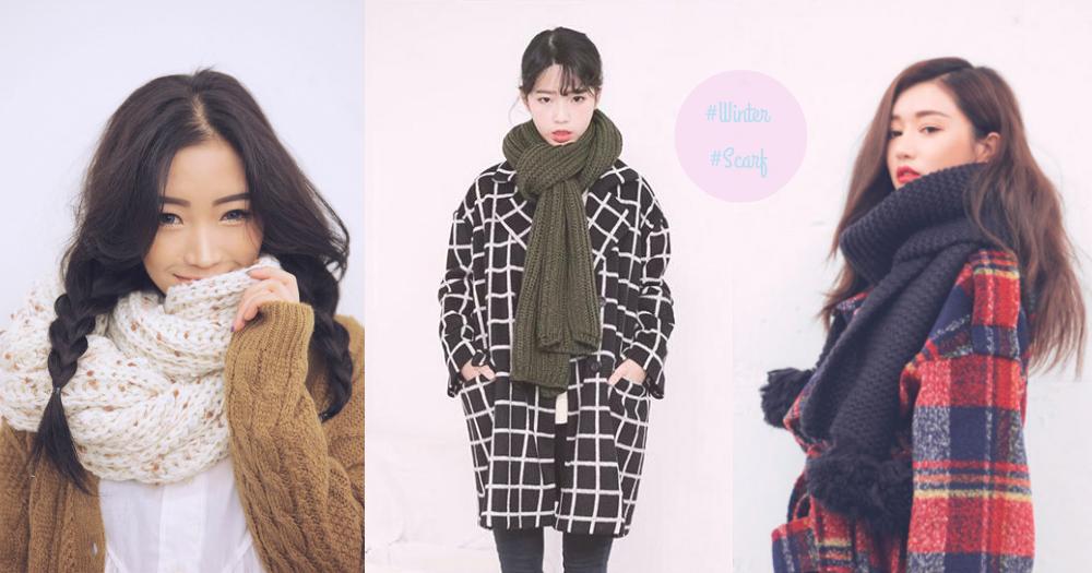 圍巾是時尚的完成度!嚴選12款這個冬天你必要的圍巾,要過一個又暖又美的冬天啦〜