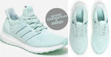 清新系女生的夢幻球鞋!adidas Ultra Boost 聯名款,薄荷綠配色是想逼瘋球鞋控嗎!