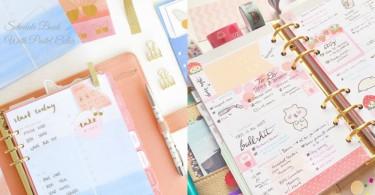來年的手帳我要粉粉地過!少女心滿滿的粉色系手帳,手帳也要跟著我的步伐啊~