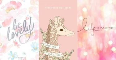 少女的專屬顏色!20款唯美粉色桌布,粉色控就乖乖地趕快收藏吧〜