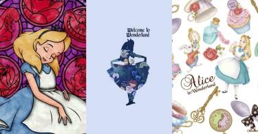 這下又可以幫手機換換新的桌布嘍~精選40款X6種風格的少女愛麗絲手機桌布,這叫愛麗絲迷如何抵擋得住啊!