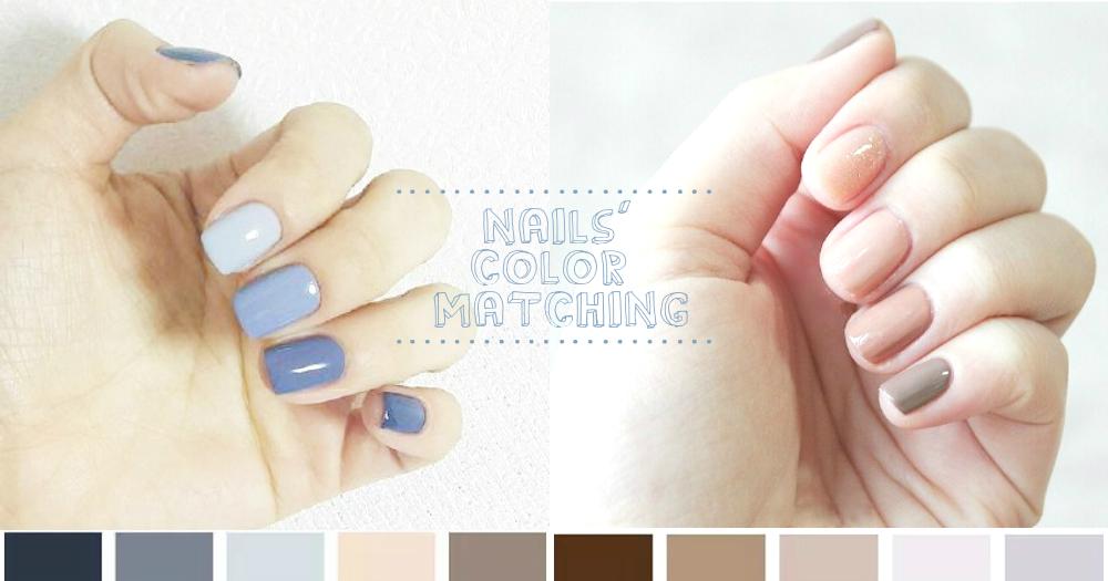 選擇困難症速速走!15款「跳色美甲」配色提案,清新和諧的配色絕對讓你氣質翻倍!