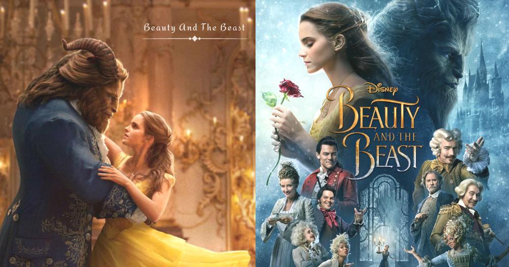 《美女與野獸》電影最新海報和短片釋出!艾瑪華森真的美哭了,好期待三月上映啊〜