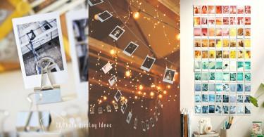 把最美照片都Show出來!12個DIY照片展示點子,讓房間更有格調與藝術氣息〜