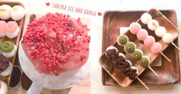 粉紅色的櫻花令少女心爆發!首爾小店吃「可愛糰子x 櫻花刨冰」~不是春天都可享受賞櫻的心情!
