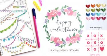 男友也大讚你的心思~28個卡片剪貼點子X裝飾小技巧,情人節心意卡原來可以這麼簡單啊~