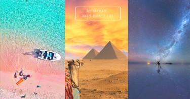 人生必須達成的10項「旅遊清單」!極光、粉紅沙灘、天空之鏡好想全部體驗一遍〜