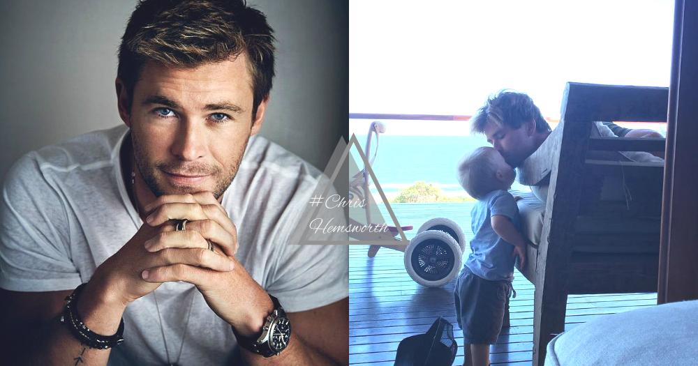 女生夢寐以求的好男人!愛妻又愛家「雷神」Chris Hemsworth,還要長得帥是要逼死誰~