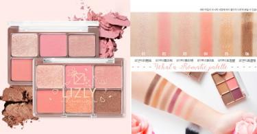 果斷收起你的深色眼影吧!LIZLY春日浪漫「櫻花眼影盤」,每一個顏色都簡直美出了新高度!