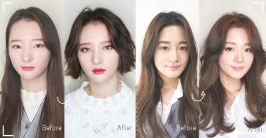 美得朋友都認不出你!韓妞妝髮Before&After,由路人變身Model只需換個髮型〜