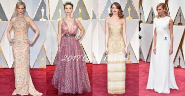 奧斯卡頒獎禮紅地毯盛況!女星們的華麗造型成全球焦點,你又最愛哪個?