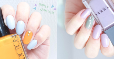 初春就是要簡約粉色!15款簡約系跳色美甲~只要有一隻指甲不同就可帶來獨特風格!