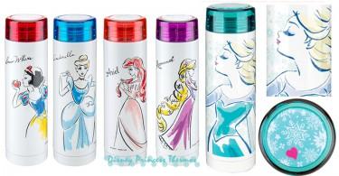 真的是美翻了~迪士尼公主唯美風保溫瓶,以後就可鼓勵我每天多喝水啊!