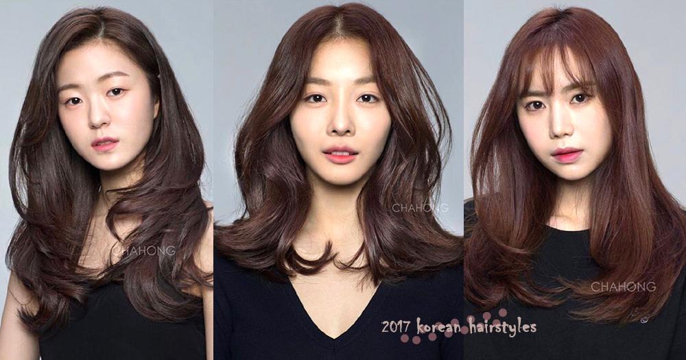 不可把長髮浪費掉!韓國2017年流行的髮型,要做一點漂亮造型才是留長髮的意義啊~