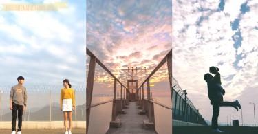 拍照打卡也可以是易事!迷人黃昏打卡地香港飛機維修區,讓飛機劃過黃昏闖進你心~