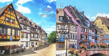靚到好似一幅畫!「美女與野獸」取景地法國夢幻小鎮 ALSACE,一世當一次Belle就足夠了!