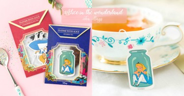 愛麗絲迷必買!超夢幻《愛麗絲夢遊仙境》茶包,喝完絕對要好好收藏啊!