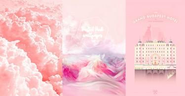 粉紅控集合!25款簡約粉色系wallpaper,為你的手機添上一絲少女夢幻氣息~