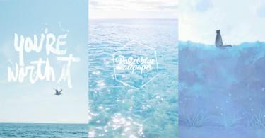 藍色控出動!30款「小清新粉藍」手機wallpaper,讓夢幻藍色帶你暫時逃離現實~