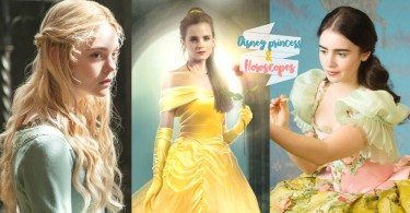 早跟你說姐是公主來的~12星座x迪士尼公主性格對照,代表妳的命定公主是那一位?