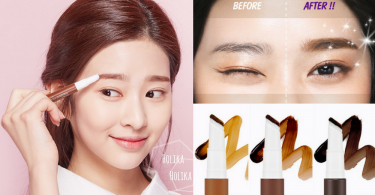 最方便既畫眉救星出現!韓國美妝品牌新推出「氣墊眉筆」,斜角設計輕鬆勾畫眉型~