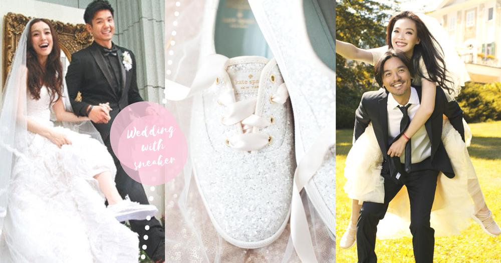 穿起波鞋說:我願意!8款配搭嫁衣的波鞋~誰說美麗與舒適不能並存!