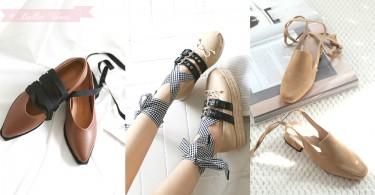 不懂跳芭蕾還是可以穿!少女專屬綁帶芭蕾舞鞋,讓你每一步都踏出溫柔~