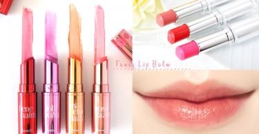 迷人「櫻花唇」的秘密!5枝人氣有色潤唇膏,偽素顏必備的紅潤櫻唇就靠它們〜