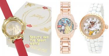 燒光錢包系列!5款《美女與野獸》少女系手錶,戴上它就能當有氣質的貝兒公主了!