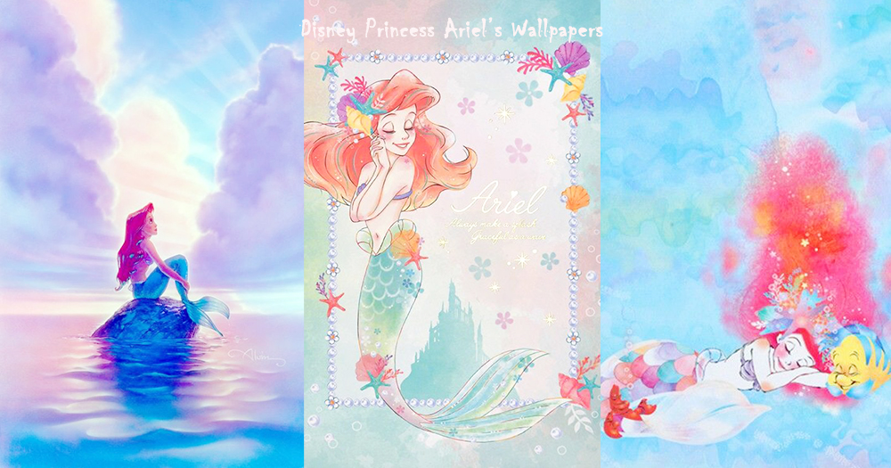 數一數二的美麗!30張美人魚公主wallpapers,就讓你每天都有不同模樣的人魚公主陪伴著! Girls 女生日常