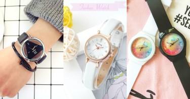 小資女多買幾支也無妨!12款高質感少女系淘寶手錶,手錶才不只是單單看時間用!