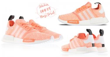 超粉嫩登場!ADIDAS NMD 新推「水蜜桃色」,夏天來了又有理由買新鞋啦!