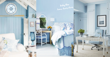 為自己佈置一個舒適既家!20個「粉藍x白」家居IDEAS,就係要被粉藍小清新所包圍!