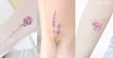 刺青不一定是壞女孩專利!小清新「微線條」刺青,像童話繪本裡的插畫般夢幻可愛~