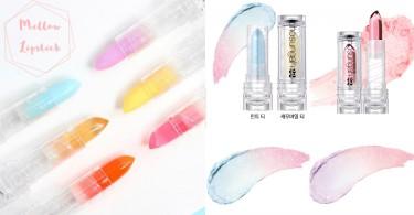 偽素顏必備!韓國超夢幻「棉花糖果凍唇膏」,隨體溫變色塗起來還有淡淡清新茶香~