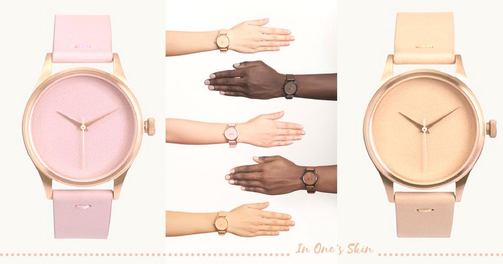 裸色控最愛!5款唯美肌色限量手錶「In One's Skin」~簡潔嘅設計讓簡約控都沒法忍手!